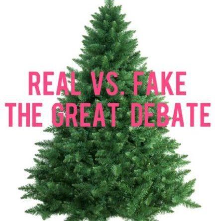 dan shay prefer fake christmas trees