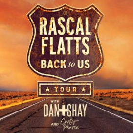 Rascal Flatts w/Dan & Shay and Carly Pearce @ Ruoff Home Mortgage Music Center | Noblesville | Indiana | United States