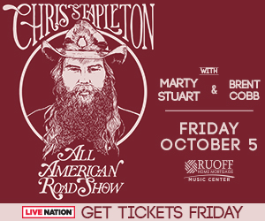 Chris Stapleton @ Ruoff Home Mortgage Music Center | Noblesville | Indiana | United States