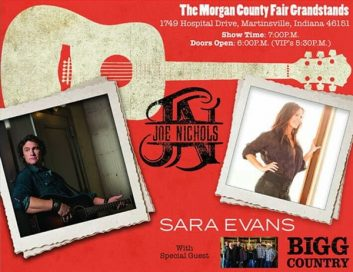 Joe Nichols/Sara Evans with Bigg Country @ Morgan County Fair | Martinsville | Indiana | United States