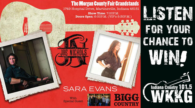 Joe Nichols and Sara Evans In Concert