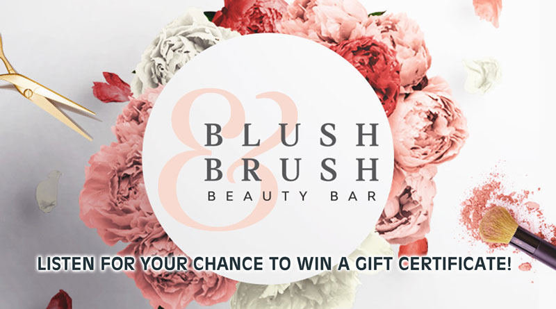 Blush and Brush Beauty Bar Contest