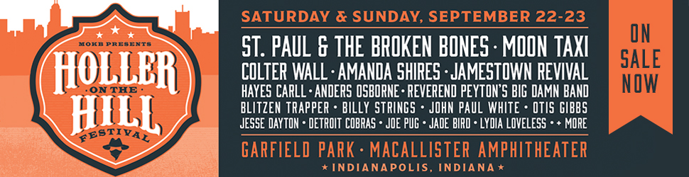 Holler On The Hill @ MacAllister Amphitheater @ Garfield Park | Indianapolis | Indiana | United States