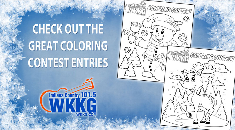 Christmas Coloring Entries