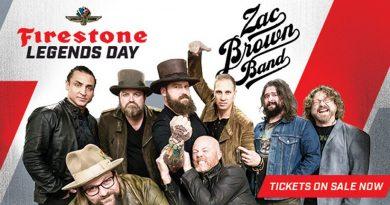 Zac Brown Band to Headline Firestone Legends Day Concert
