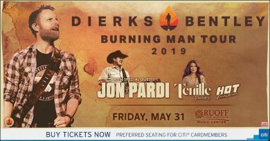 Dierks Bentley @ Ruoff Home Mortgage Music Center