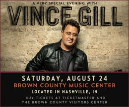 Vince Gill at the Brown County Music Center @ Brown County Music Center