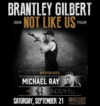 Brantley Gilbert @ Ruoff Home Mortgage Music Center
