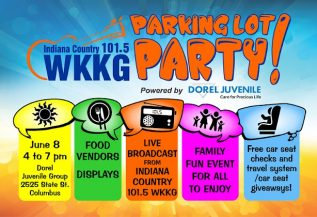 WKKG Parking Lot Party Powered By Dorel Juvenile @ Dorel Juvenile