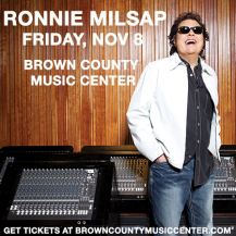Ronnie Milsap at the Brown County Music Center @ Brown County Music Center