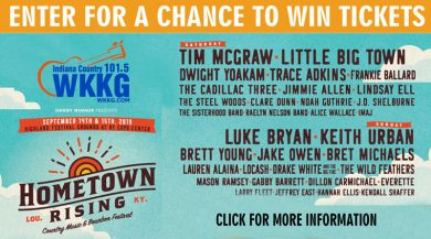 Hometown Rising Country Music and Bourbon Festival @ Kentucky Expo Center