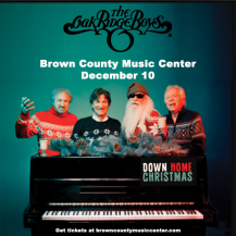 Oak Ridge Boys Down Home Christmas @ Brown County Music Center