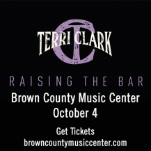 Terri Clark at the Brown County Music Center @ Brown County Music Center