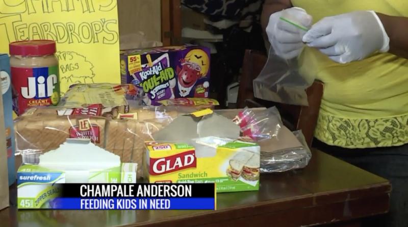 Champale Anderson : la noire américaine qui nourrit 100 enfants chaque jour (vidéo)