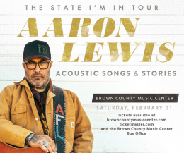 Aaron Lewis @ Brown County Music Center