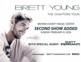 Brett Young with Matt Ferranti @ Brown County Music Center
