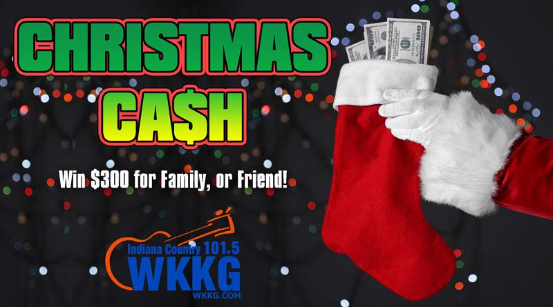 Christmas Cash Bonus Contest