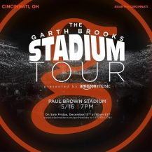 Garth Brooks in Cincinnati @ Paul Brown Stadium