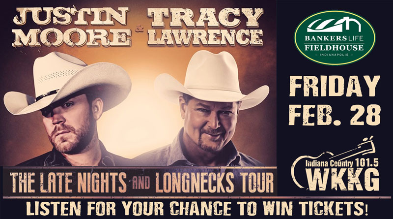 Justin Moore and Tracy Lawrence Tickets
