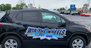 [Pictures + Video] Check out our 1st Win the Wheels broadcast from Bob Poynter GM in Seymour!