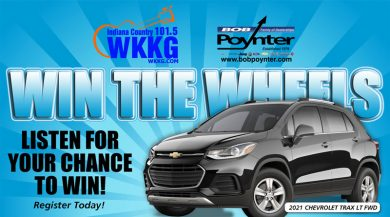Win the Wheels With White River Dental @ White River Dental