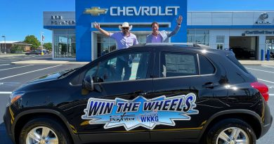 [VIDEO + AUDIO] J.B. Hackman from the Bob Poynter Family of Dealerships announces our WIN THE WHEELS contest on WKKG!